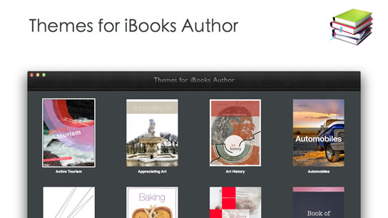 Themes for iBooks Author Templates